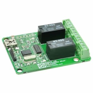 2 Channel USB Powered Relay Module