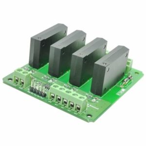 4 Channel Solid State Relay Controller Board